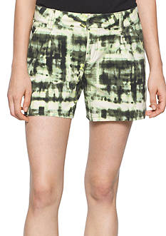 Calvin Klein Jeans Printed Flare Shorts