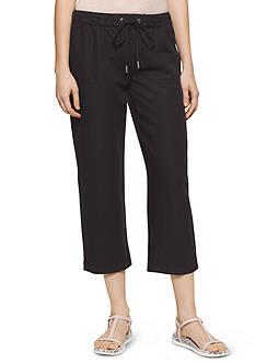 Calvin Klein Jeans Linen Drawstring Pants