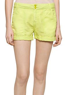 Calvin Klein Jeans Linen Patch Pocket Shorts