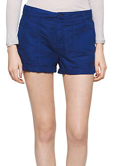 Calvin Klein Jeans Linen Patch Pocket Shorts