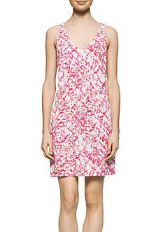 Calvin Klein Jeans Printed Sleeveless Racerback Dress