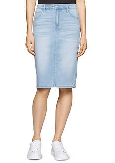 Calvin Klein Jeans Essential Jean Pencil Skirt