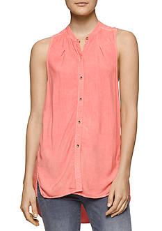 Calvin Klein Jeans Sleeveless Woven Top