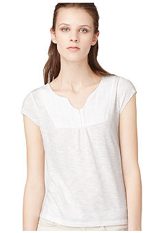 Calvin Klein Jeans Solid Knit Top with Bib