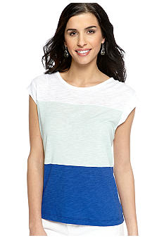 Calvin Klein Jeans Color Block Top