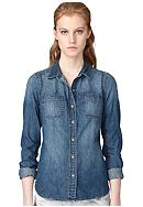 Calvin Klein Jeans Fitted Denim Shirt