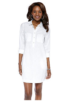 Calvin Klein Jeans Long Sleeve Shirt Dress