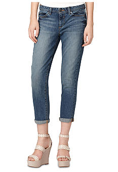 Calvin Klein Jeans Rolled Denim Crop