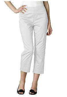Jones New York Signature Stretch Slim Capri