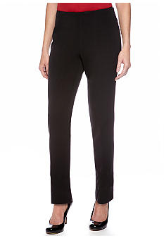 Jones New York Signature Petite Dressy Stretch Side Zip Pant