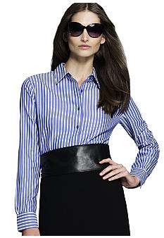 Jones New York Signature Petites Easy Care Shirt