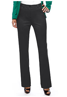 Jones New York Signature Stretch Zip Dress Pant
