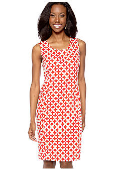 Jones New York Signature Sleeveless Shift Dress