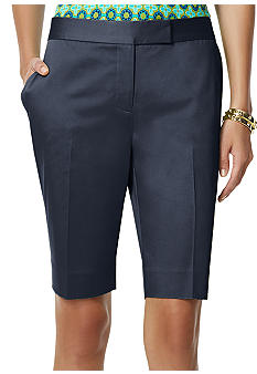 Jones New York Signature Tailored Bermuda Short
