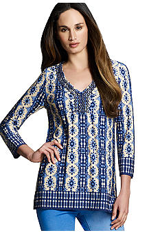 Jones New York Signature Embellished Tunic