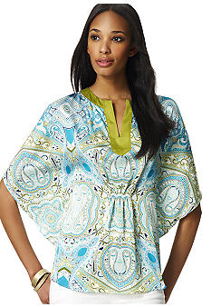 Jones New York Signature Poncho Styled Tunic
