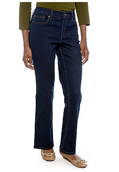Jones New York Signature Lexington Straight Leg Jean