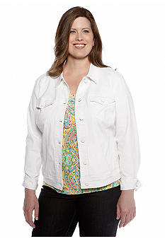 Jones New York Signature Plus Size Street Jacket