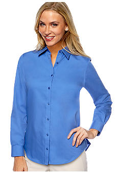 Jones New York Signature Petite Easy Care Shirt