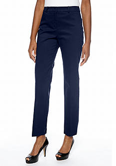 Jones New York Signature Classic Twill Pant