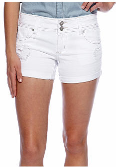 Almost Famous Raw Cuff Shorts