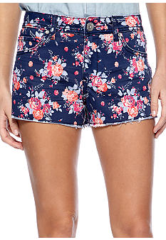 Almost Famous Bright Floral Short