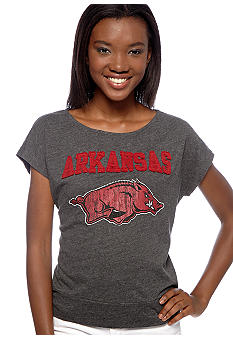 Pressbox Arkansas Dolman Sleeve Tee