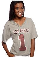 Pressbox Arkansas Zena Crop Tee