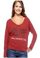 Pressbox Arkansas Tiffany Long Sleeve Tee