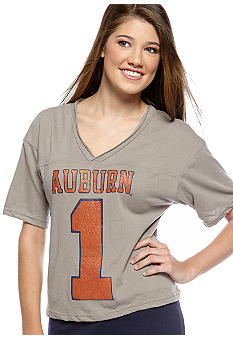 Pressbox Auburn University Zena Crop Tee