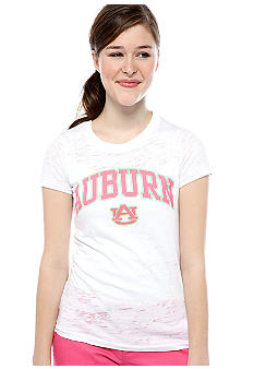 Pressbox Auburn Burn Out Crew Neck Tee