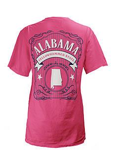 ROYCE Alabama State Banner Tee