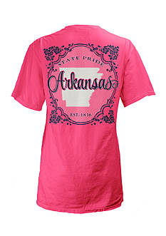 Pressbox Arkansas Flora State Tee