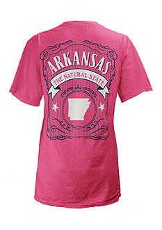 ROYCE Arkansas State Banner Tee