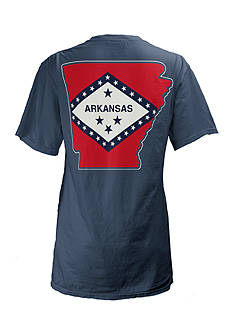 Pressbox Arkansas State Flag Tee