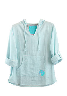 Pressbox Arkansas Monogram Baja Pullover
