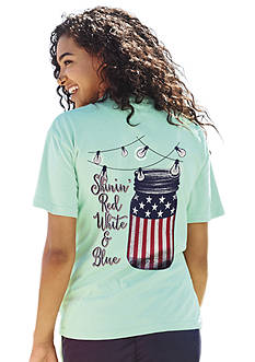 ROYCE Shine Patriotic Tee