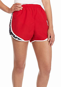ROYCE Red Short with Star Inset