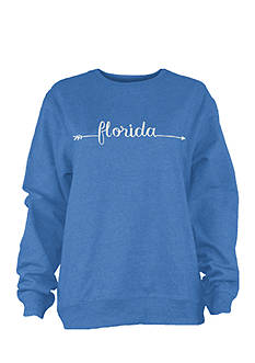 Pressbox Florida Bolt State Fleece Top