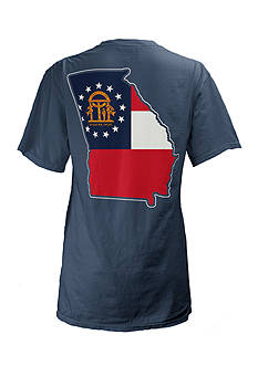 Pressbox Georgia State Flag Tee