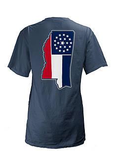 Pressbox Mississippi State Flag Tee