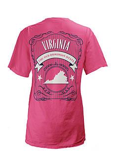 ROYCE Virginia State Banner Tee