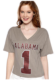 Pressbox Alabama Super Soft V-Neck Tee