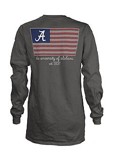 ROYCE University of Alabama Collegiate Flag Tee