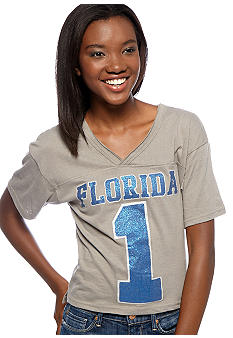 Pressbox University of Florida Zena Crop Tee
