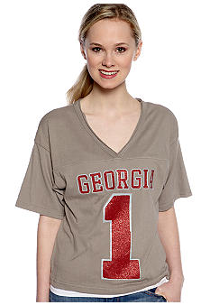 Pressbox Georgia Super Soft V-Neck Tee