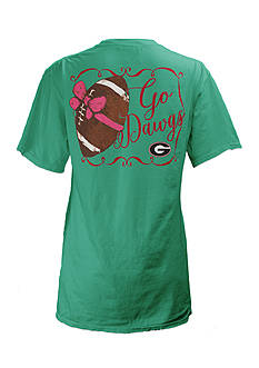 ROYCE University of Georgia Bow Tee