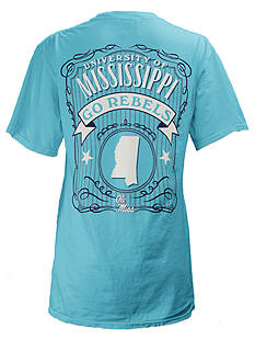 ROYCE University of Mississippi State Banner Tee