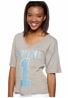 Pressbox University of North Carolina Zena Crop Tee