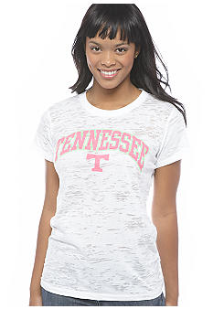 Pressbox Tennessee Burn Out Crew Neck Tee